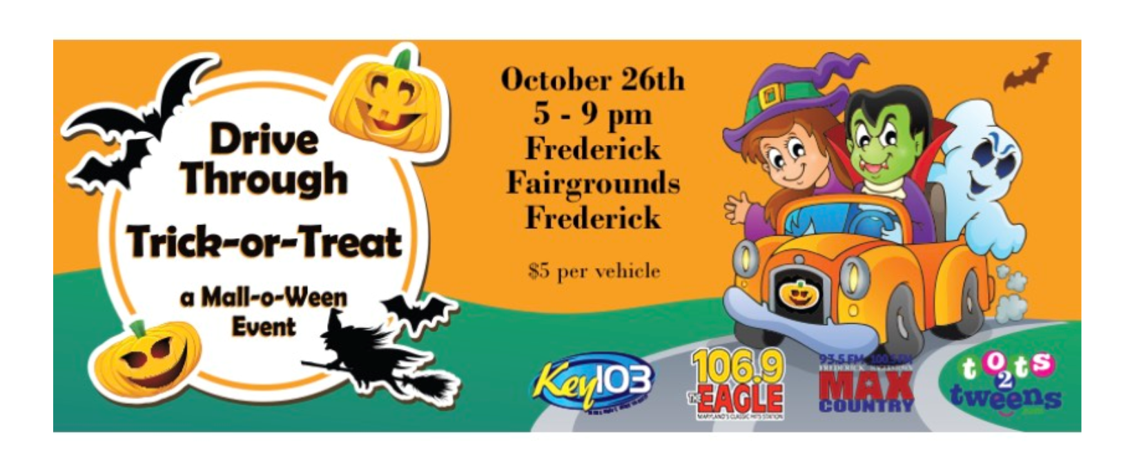 2020 trick or treat 103.1