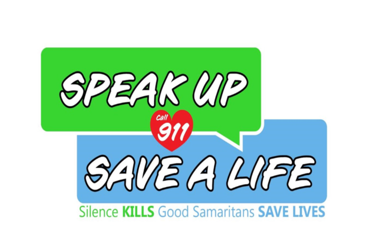SPEAK UP SAVE A LIFE LOGO