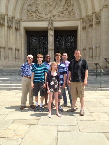 2015_05_08 Confirmands in DC