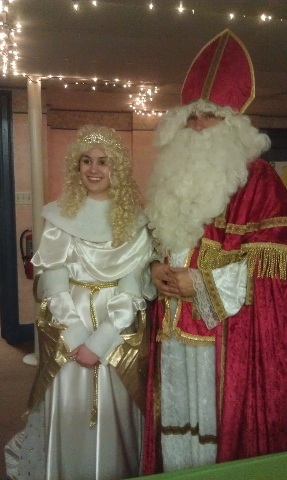 Angel and St. Nick